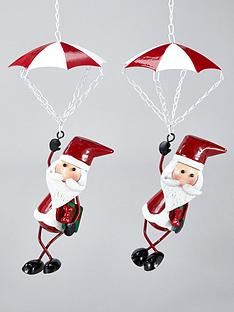 three-kings-santa-chute-christmas-tree-decorations-set-of-2