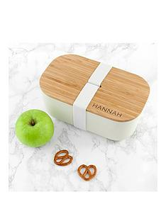 personalised-bamboo-lunch-box