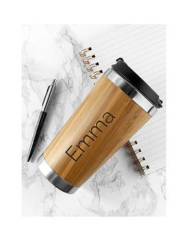 personalised-bamboo-travel-mug