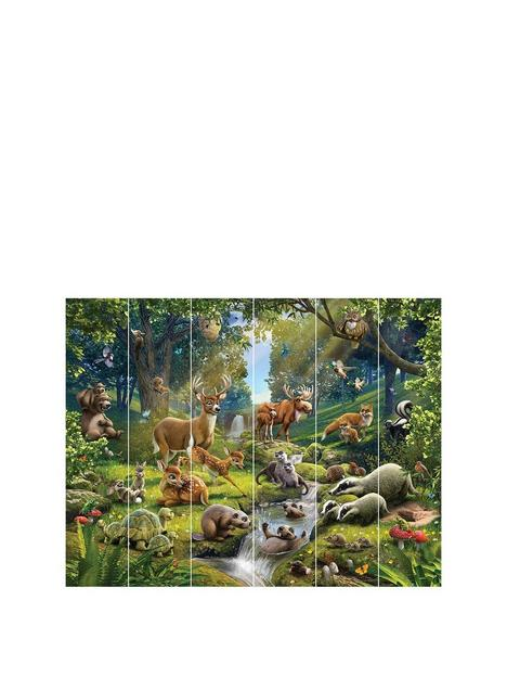 walltastic-animals-of-the-forest-wall-mural