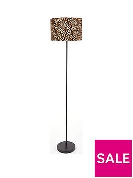 leopard-print-floor-lamp