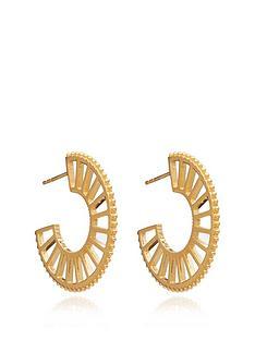 rachel-jackson-london-22ct-gold-plated-silver-queen-of-revelery-hoop-earrings