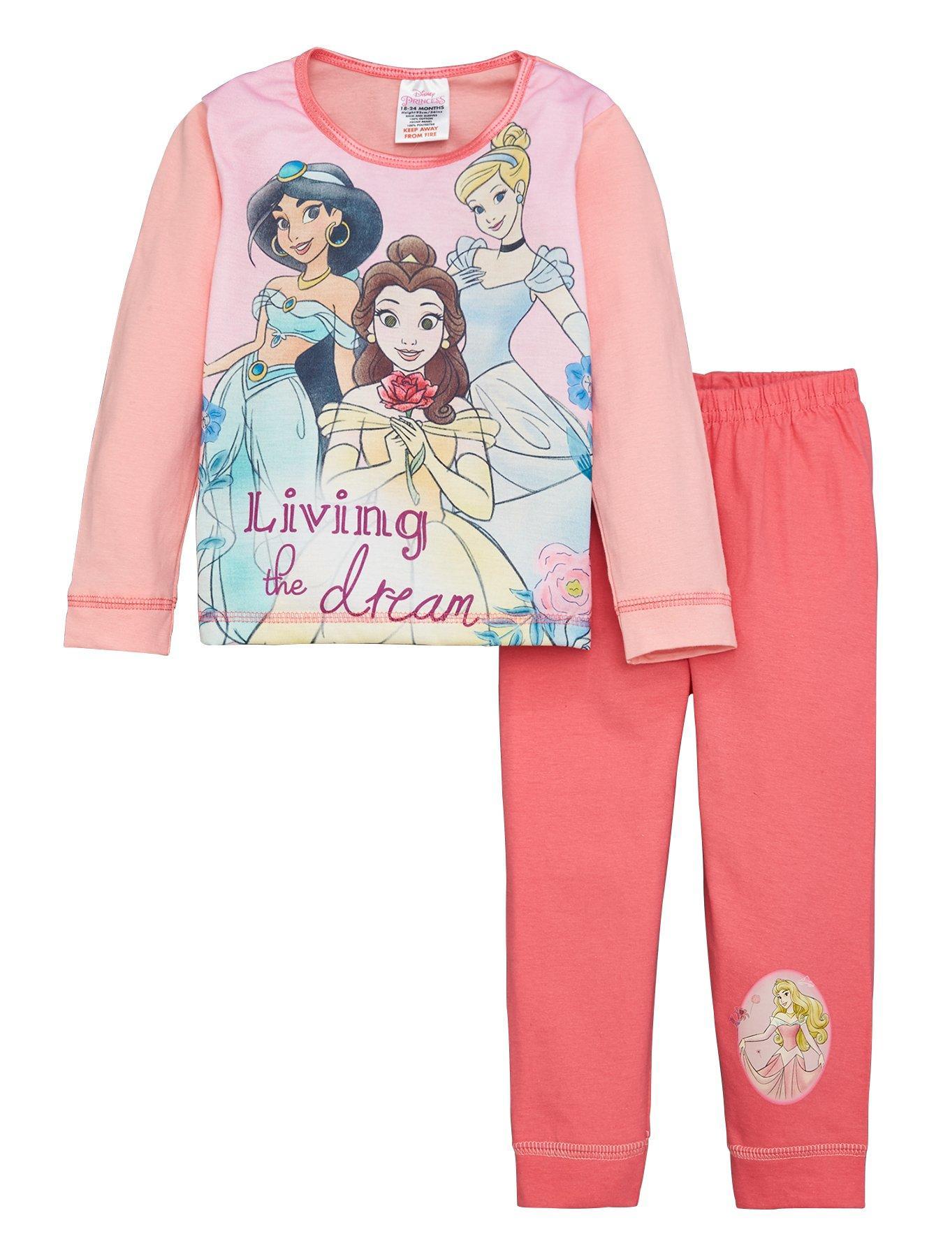 Disney Aladdin PyjamasGirls Princess Jasmine Pyjama SetKids Disney PJs