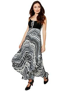 joe-browns-our-favourite-strappy-dress-black-white