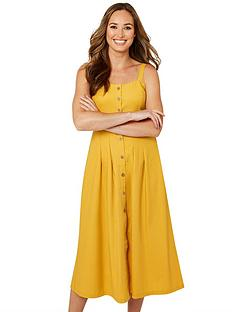 joe-browns-beautiful-button-through-dress-mustard