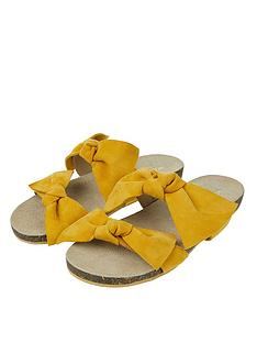monsoon-betty-bow-suede-footbed-sandal-ochre