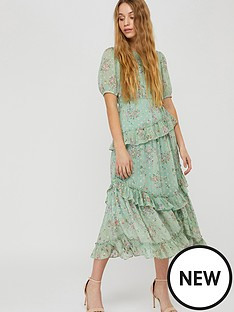 monsoon-sada-printed-lurex-frill-dress-green