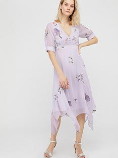 monsoon-bellerose-sustainable-embroidered-dress-grey