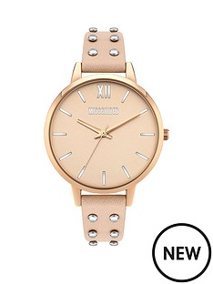 missguided-missguided-blush-dial-blush-studded-leather-strap-ladies-watch