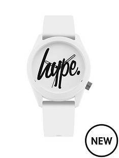 hype-hype-white-and-black-hype-dial-white-silicone-strap-kids-watch