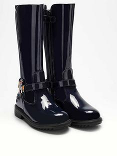 lelli-kelly-girls-frances-unicorn-knee-boot-navy-patent