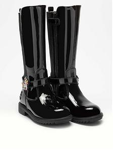 lelli-kelly-girls-frances-unicorn-knee-boot-black-patent