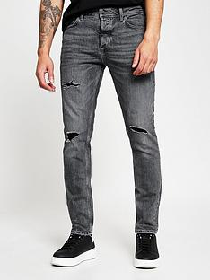 river-island-twilight-washed-black-slim
