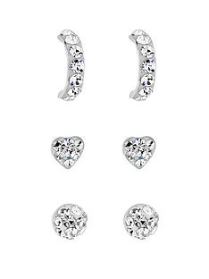 simply-silver-silver-crystal-stud-trio-pack
