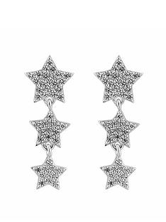 simply-silver-cubic-zirconia-graduated-three-star-drop-earrings