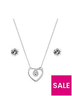 simply-silver-cubic-zirconia-heart-set