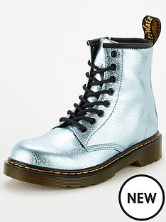 dr-martens-girls-1460-metallic-8-lace-boots-teal