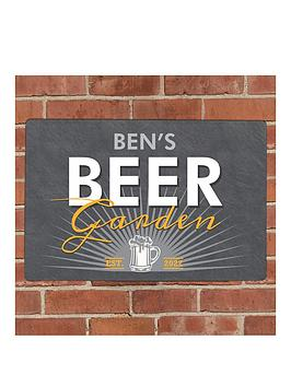 the-personalised-memento-company-personalised-beer-garden-metal-plaque