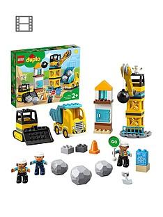 lego-duplo-10932-wrecking-ball-demolition-crane-truck-amp-bulldozer