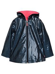 billieblush-girls-fleece-lined-glitter-raincoat-navy