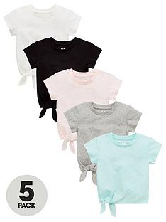 v-by-very-girls-5-pack-tie-front-long-sleeve-tops-multi