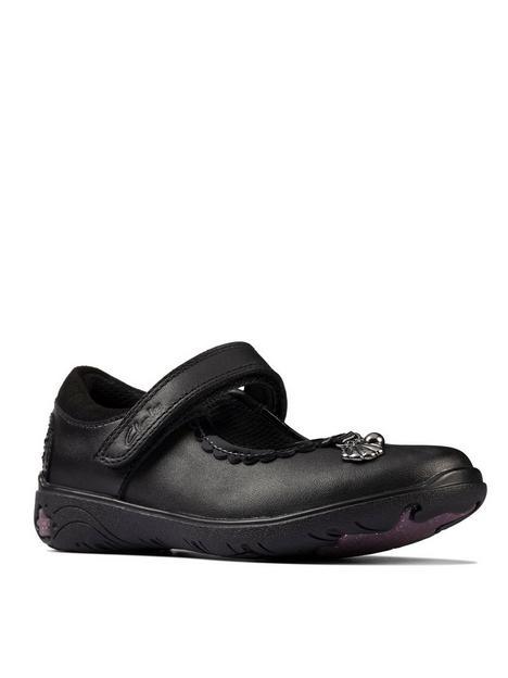 clarks-toddlernbspsea-shimmer-mary-jane-school-shoe-black
