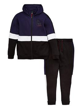 v-by-very-boys-colour-block-sweat-and-jogger-set-blue