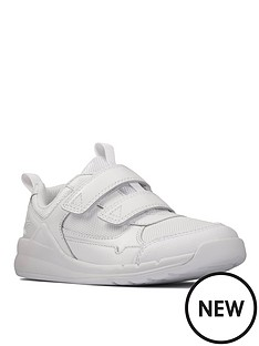 clarks-kidnbsporbit-sprint-strap-and-lace-trainer-white
