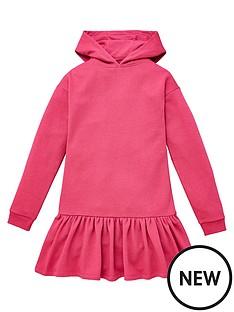 v-by-very-girls-lurex-hoodednbspdrop-waist-dress-neon