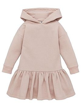 v-by-very-girls-hooded-sparkle-sweater-dress-pink