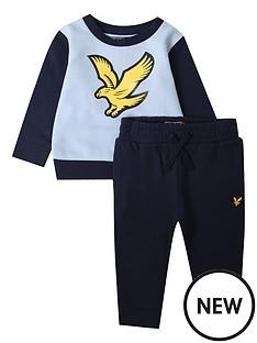 lyle-scott-toddler-boys-large-logo-top-and-jog-pant-set-blue