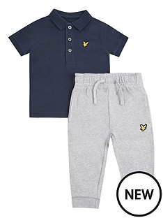 lyle-scott-toddler-boys-polo-and-jog-pant-set-navy-grey