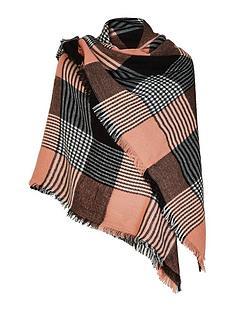 v-by-very-check-scarf-pinkblack