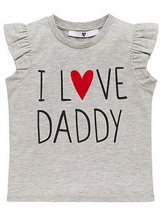 v-by-very-girls-i-love-daddy-short-sleeve-t-shirt-grey