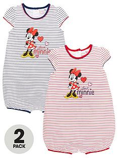 minnie-mouse-baby-girl-minnie-mouse-2-pack-stripe-rompernbsp--multi