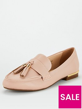 v-by-very-tassel-loafers-nude
