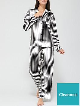 v-by-very-gift-wrapnbspsatin-button-through-pyjamas-stripe