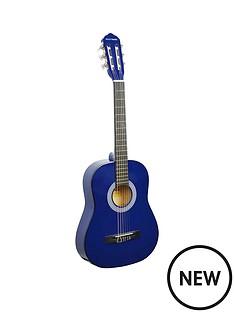 rocket-12-size-classical-guitar-blue