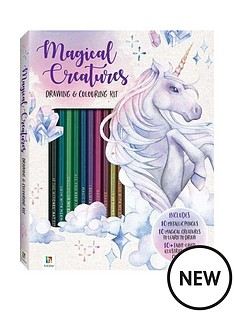 magical-creatures-drawing-and-colouring-kit