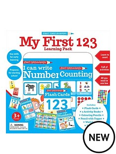 first-time-learning-my-first-123-learning-pack