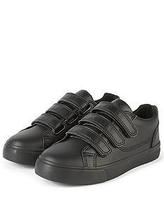 kickers-boys-tovni-tripple-strap-trainer-black