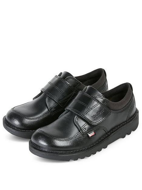 kickers-boys-kick-scuff-low-strap-shoe-black