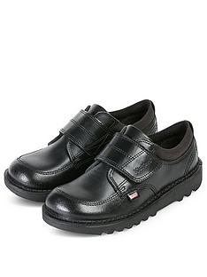 kickers-boys-kick-scuff-low-strap-shoe-black