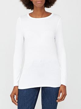 v-by-very-long-sleeve-crew-neck-t-shirt-white