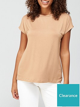 v-by-very-grown-on-sleeve-t-shirt-camel