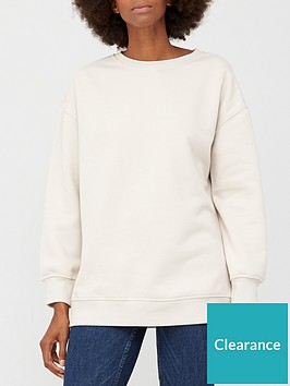 v-by-very-the-essential-long-line-crew-neck-sweat-stone