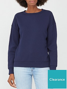 v-by-very-the-fashion-crew-sweat-navy