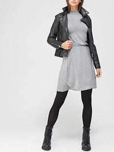 v-by-very-long-sleeve-high-neck-jerseynbspskater-dress-charcoal-marl