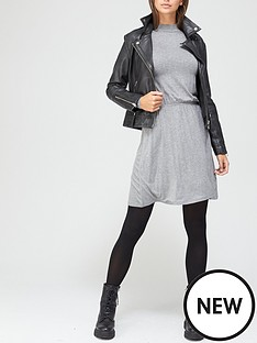 v-by-very-long-sleeve-high-neck-jerseynbspskater-dress-charcoal-marl