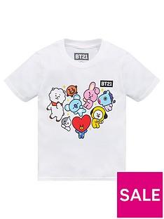 bt21-unisexnbspt-shirt-white
